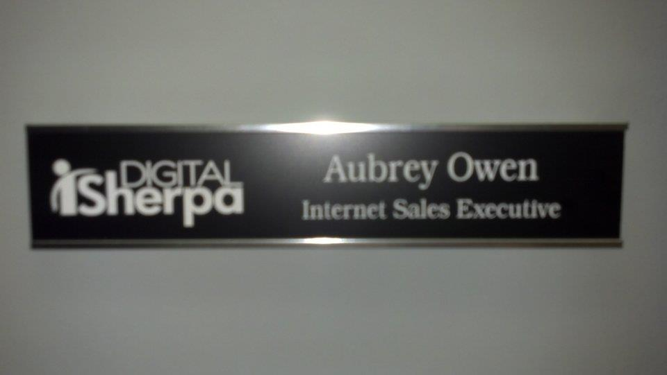 Aubrey Owen Internet Sales Executive 2013 Digital Sherpa