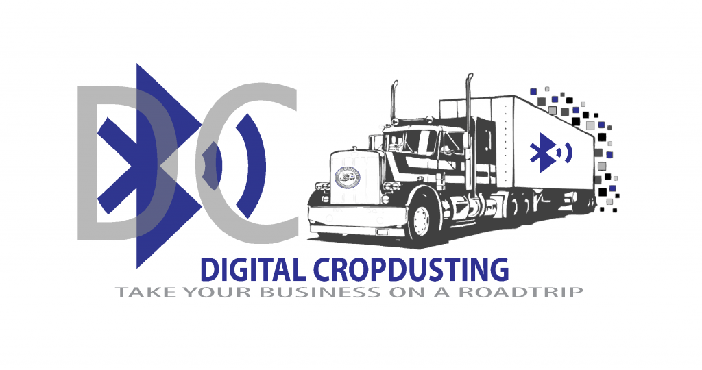 Digital Cropdusting logo concept during beginning phases Aubrey Owen