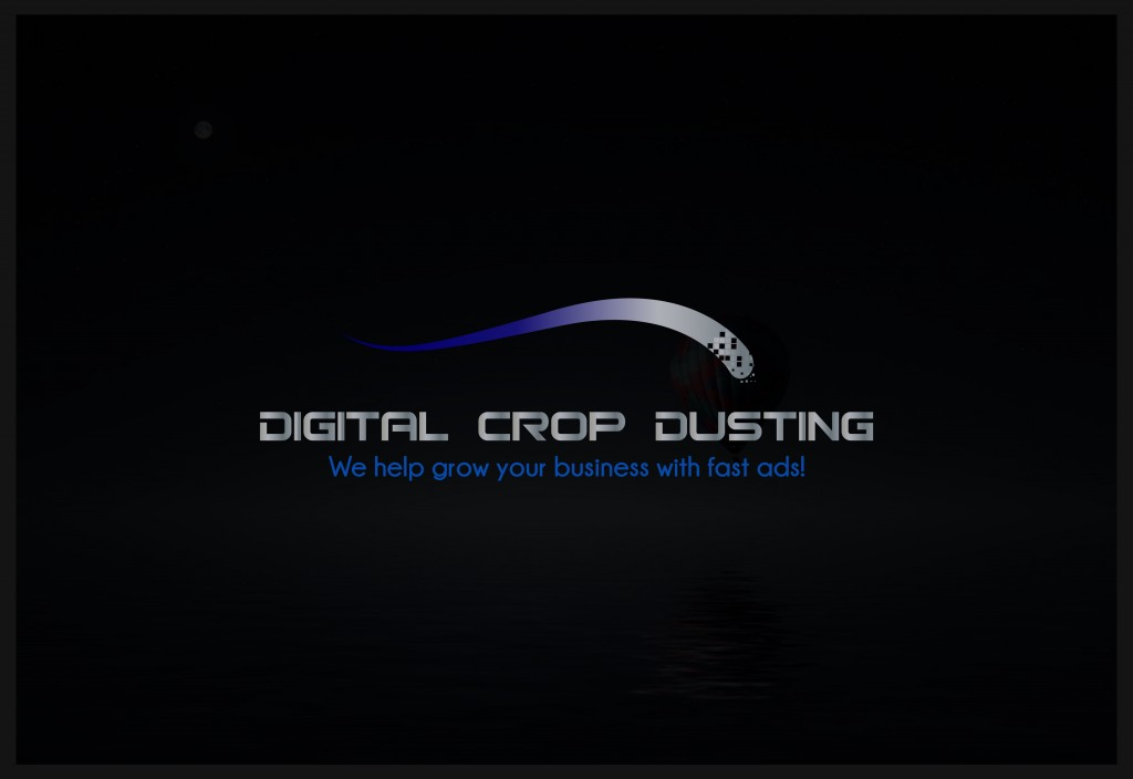 Digital Crop Dusting Logo Design Aubrey Owen Kansas City