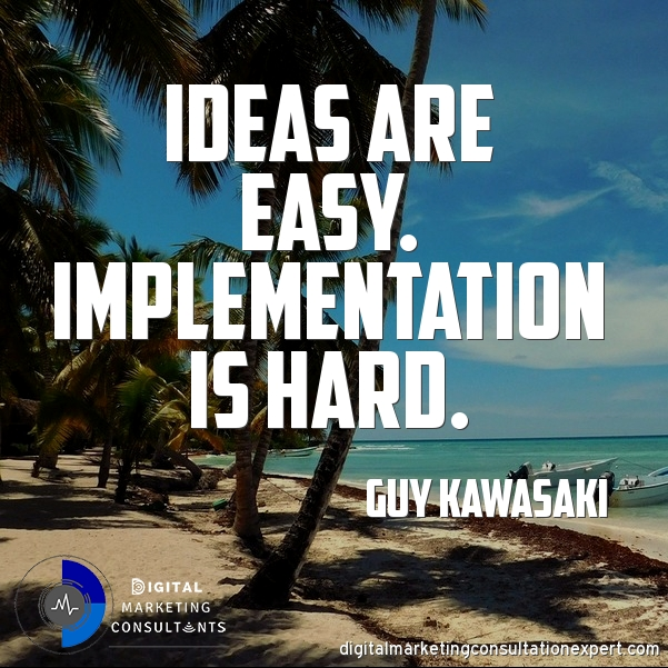 Aubrey Owen Ideas are easy implementation is hard