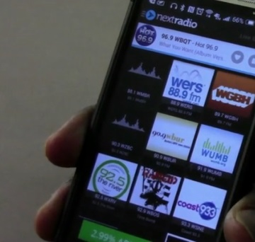 Aubrey Owen Cell phone company AT&T enabling smart phones to use FM radio