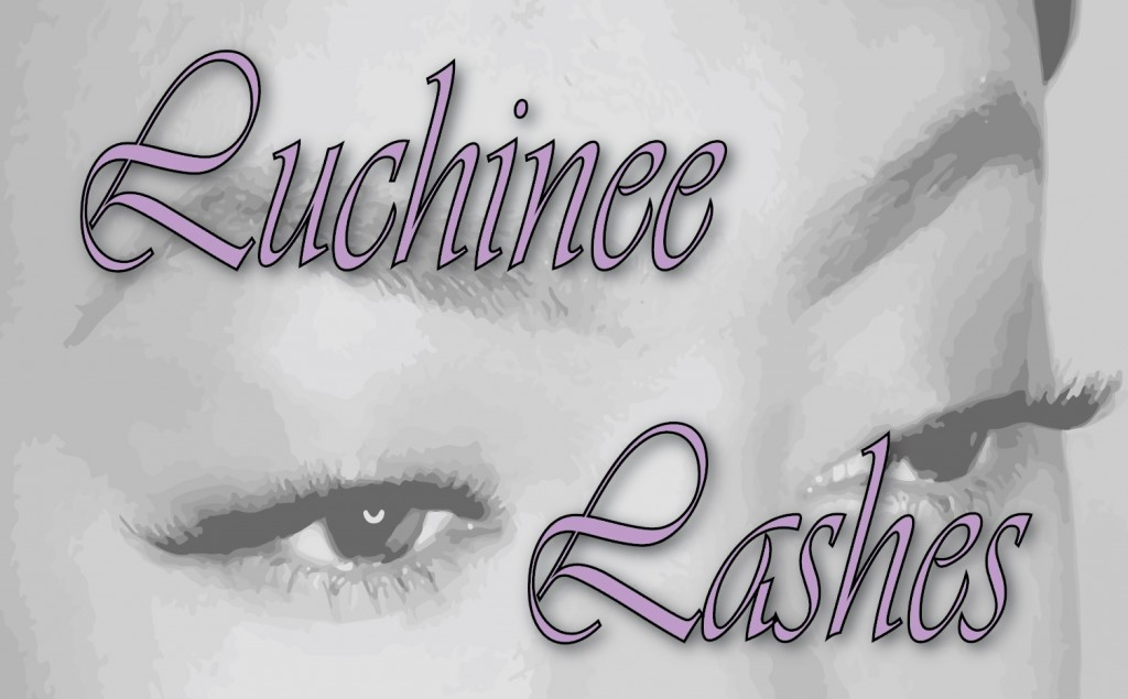 Luchinee Lashes Logo Aubrey Owen Janisha