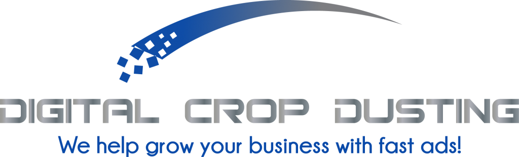This was the original concept added a tagline Digtial Cropdusting LLC We grow your business with fast ads Aubrey Owen Olathe